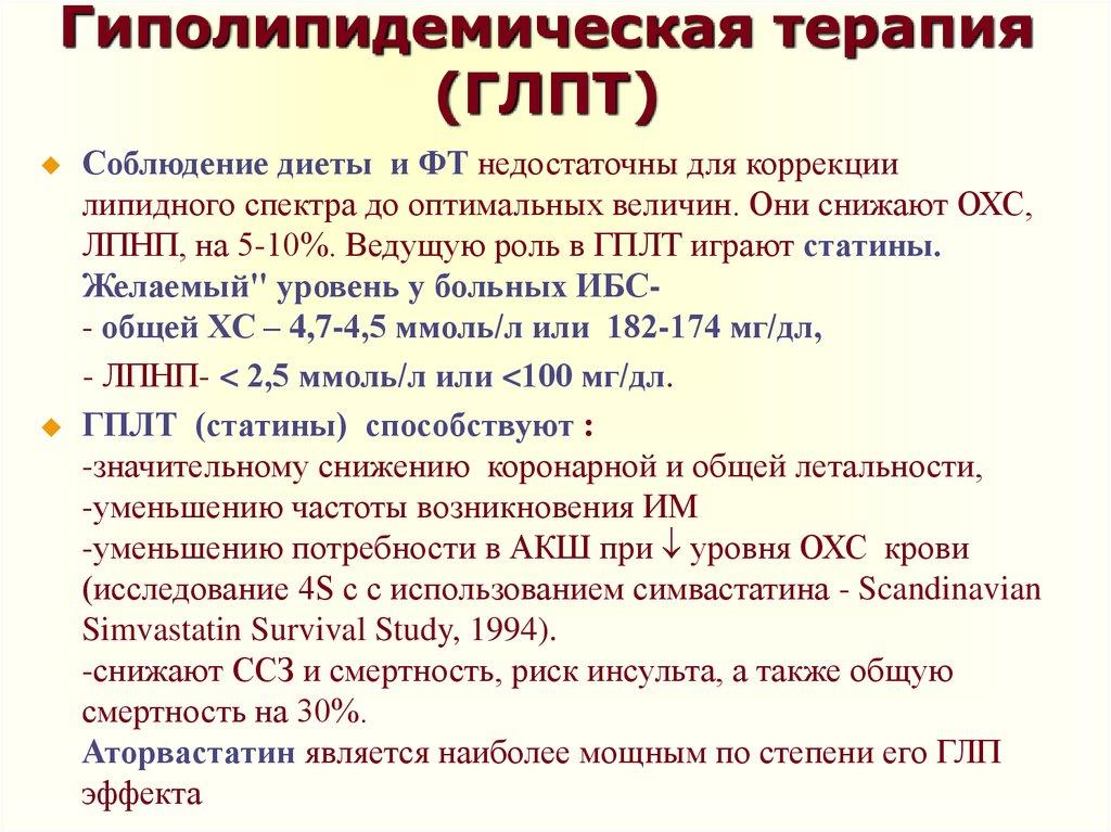 Гиполипидемическая Диета При Болезни Сердца