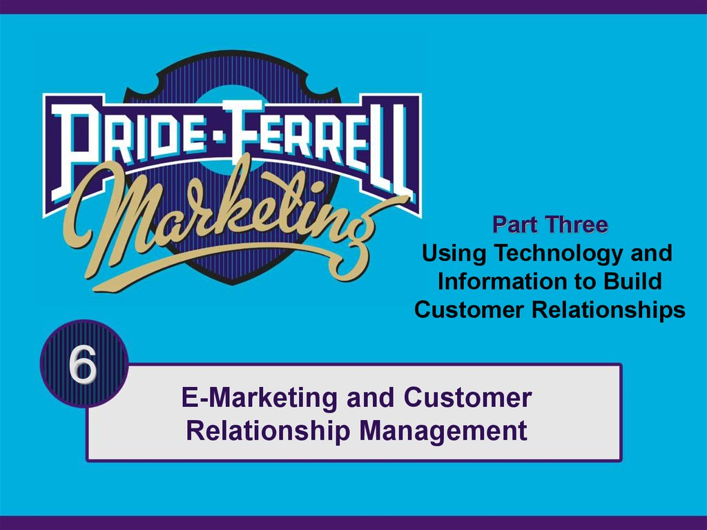 relationship marketing electronic and integrated communications