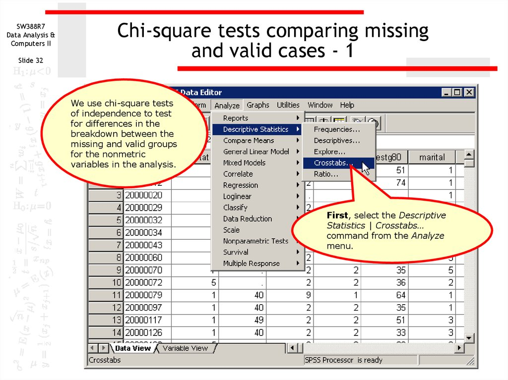 the chi square goodness of fit test essay Do a chi-square goodness-of-fit test at alpha = 005, using a critical-value decision rule, of ho:  cheap essay admission services scholarship essay.