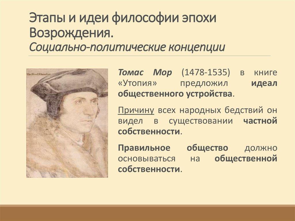 Философия эпохи возрождения книга