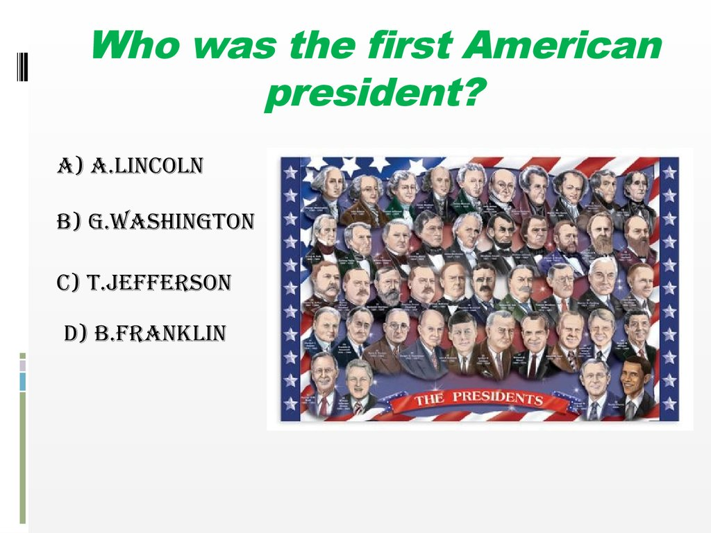 Do You Know The Usa Online Presentation