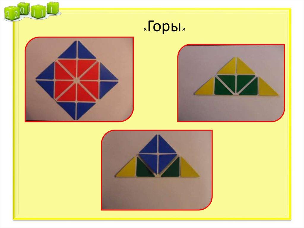 знакомство дошкольников с квадратом