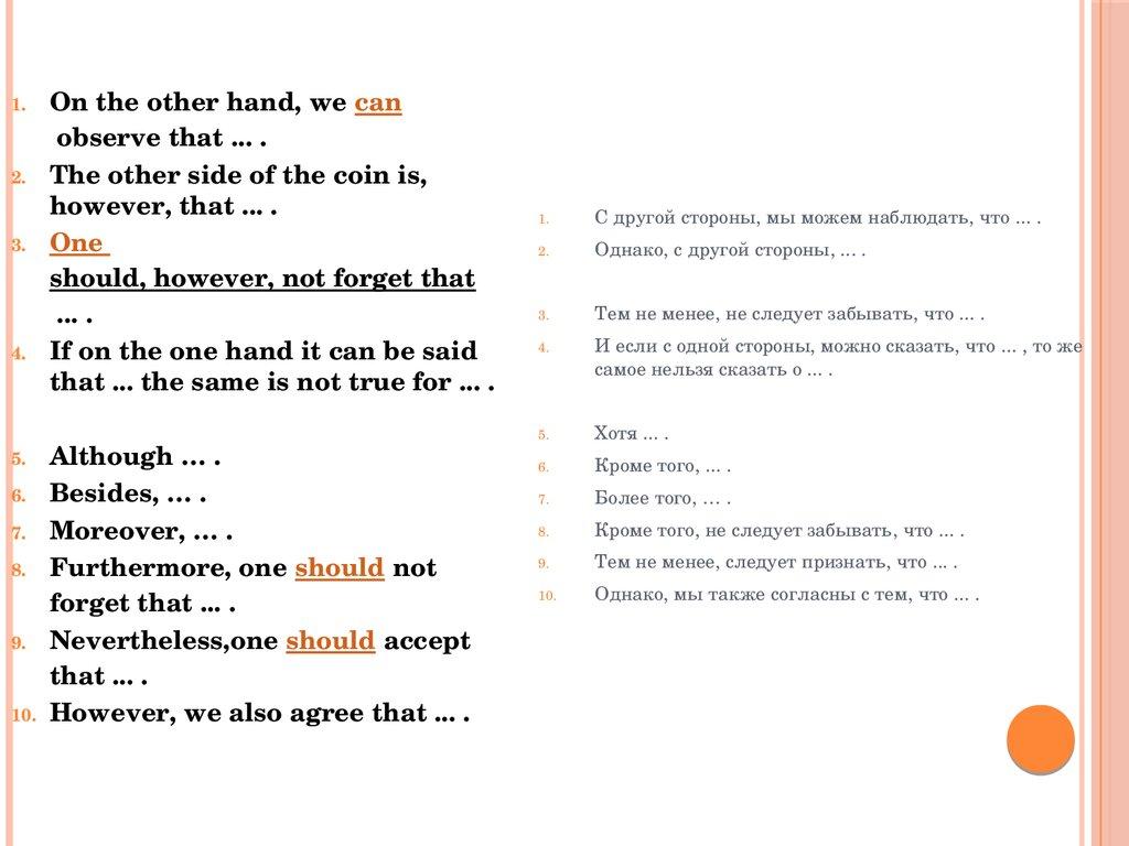 фразы на английском при знакомстве