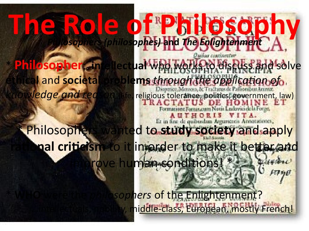 the influence of the enlightenment thinkers to the society The history of science during the age of enlightenment traces developments in science and many enlightenment writers and thinkers had backgrounds in the sciences and associated scientific advancement with the overthrow of science for a polite society: gender, culture, and the.