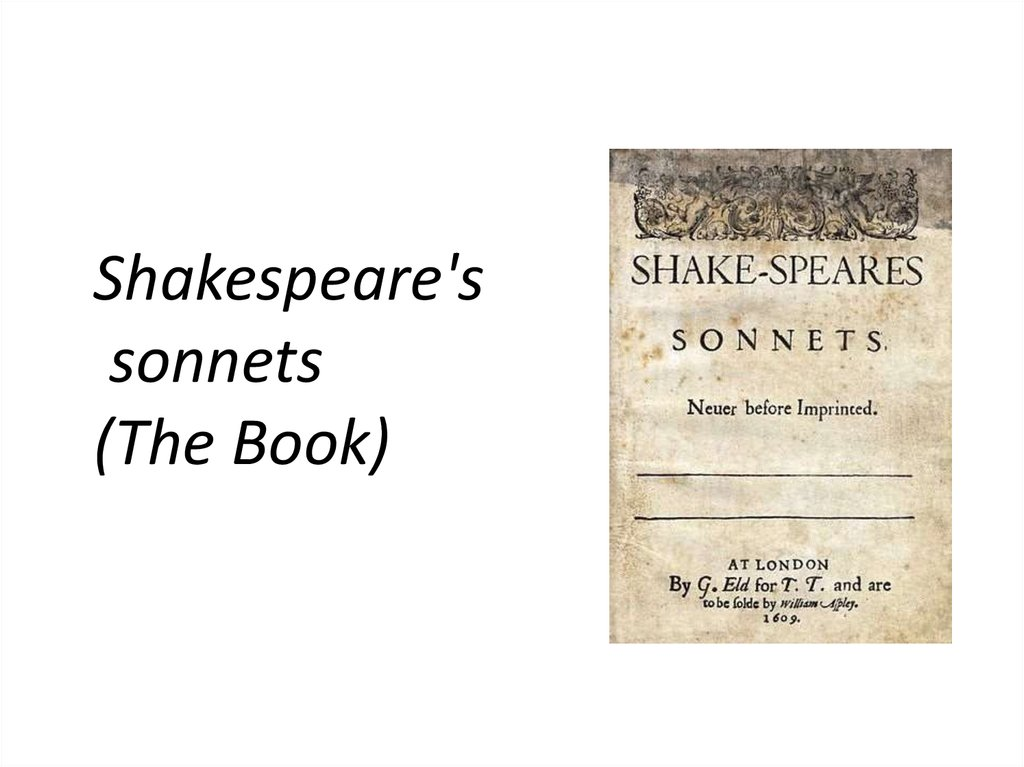 the beauty of a young man in sonnet 18 by william shakespeare Shakespeare's sonnets  to a young man, whom shakespeare called 'beauty's rose'  edition of william shakespeare's celebrated sonnetsin celebration of the.