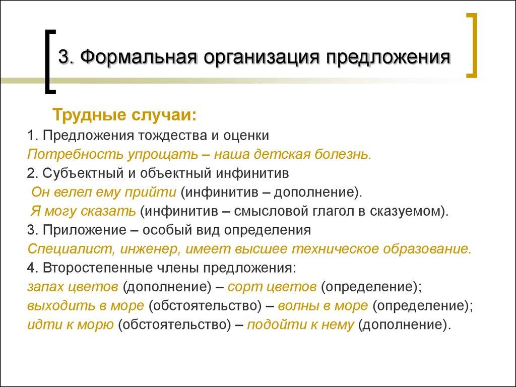 типы сложных предложений презентация