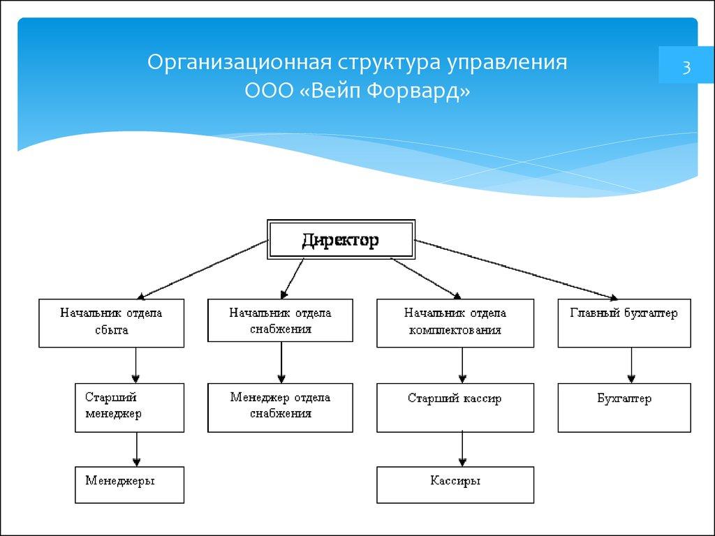 Структура и схема управления ооо