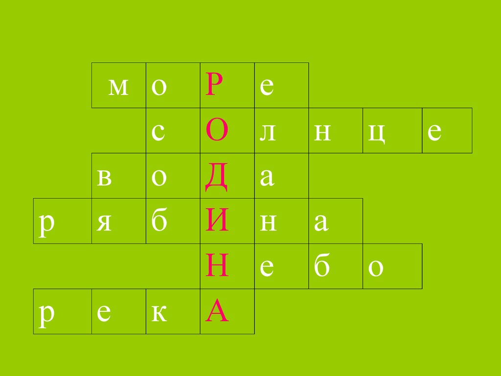 презентация игры символы россии