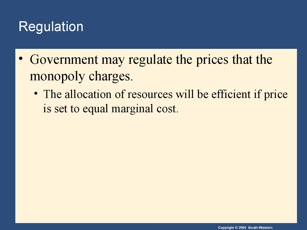 monopoly and olygopoly Econ 101: principles of microeconomics chapter 15 - oligopoly  monopoly oligopolies are a very di cult type of market structure to study,  relative to either.