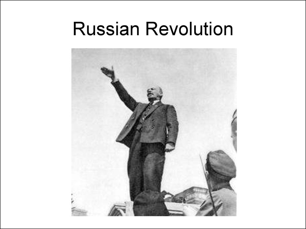 An analysis of the russian revolution at the start of 20th century