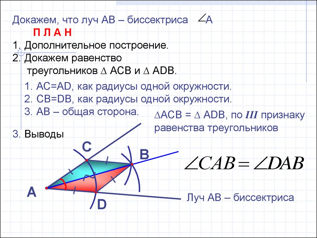 презентация на тему биссектриса угла 5 класс