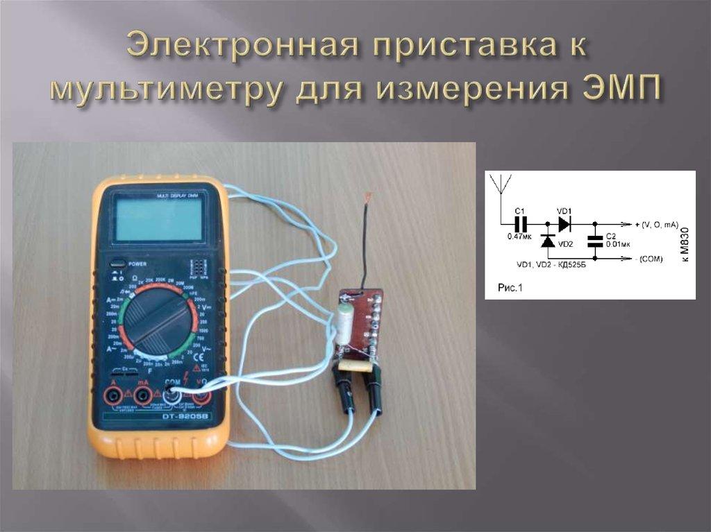 Электромагнитных полей своими руками