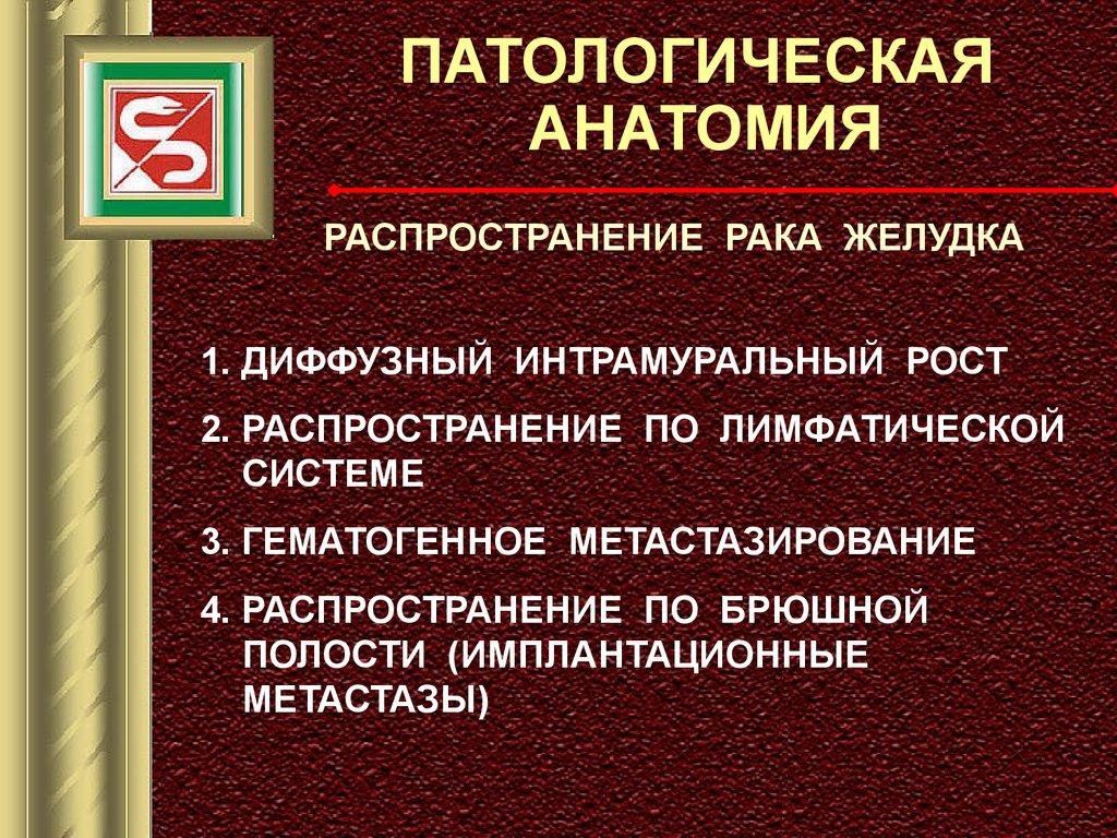 Рак Желудка Диффузный