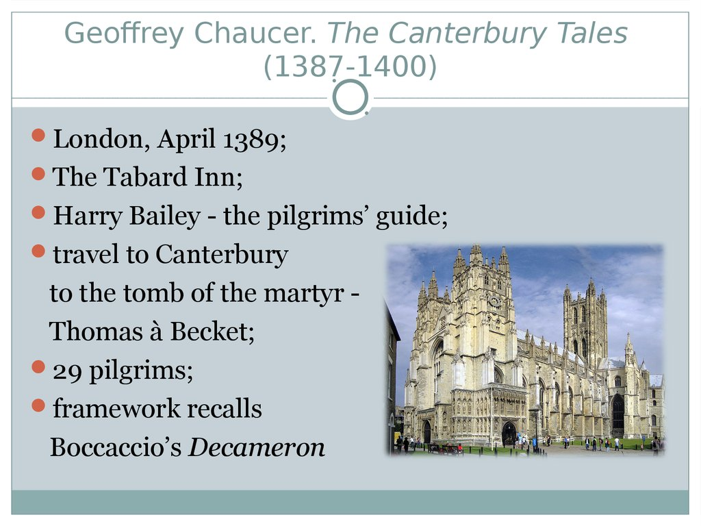 the perceptions of marriage in the canterbury tales by geoffrey chaucer The pardoner depicted by geoffrey chaucer (1342-1400) in his frame narrative, 'the canterbury tales,' reflects contemporary opinion of the church sanctioned profession of salvation salesman and is arguably the most contradictory and contentious of chaucer's pilgrims.