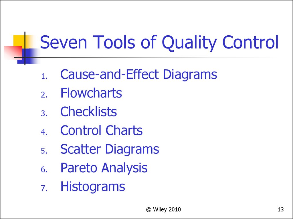 7 qc tools In six sigma projects, there are 7 qc tools that help to visualize issues surrounding quality in a process what are these 7 tools and how do they work.
