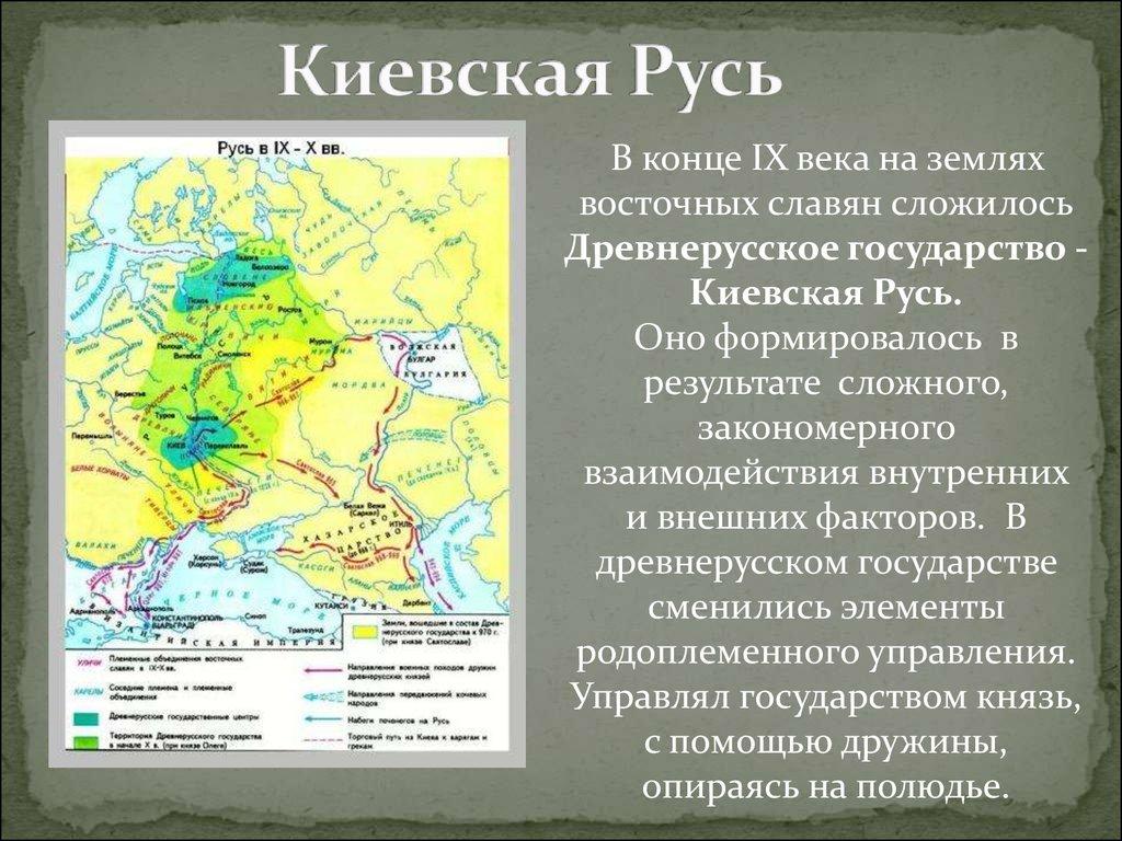 возникновение древнерусского государства рыбаков