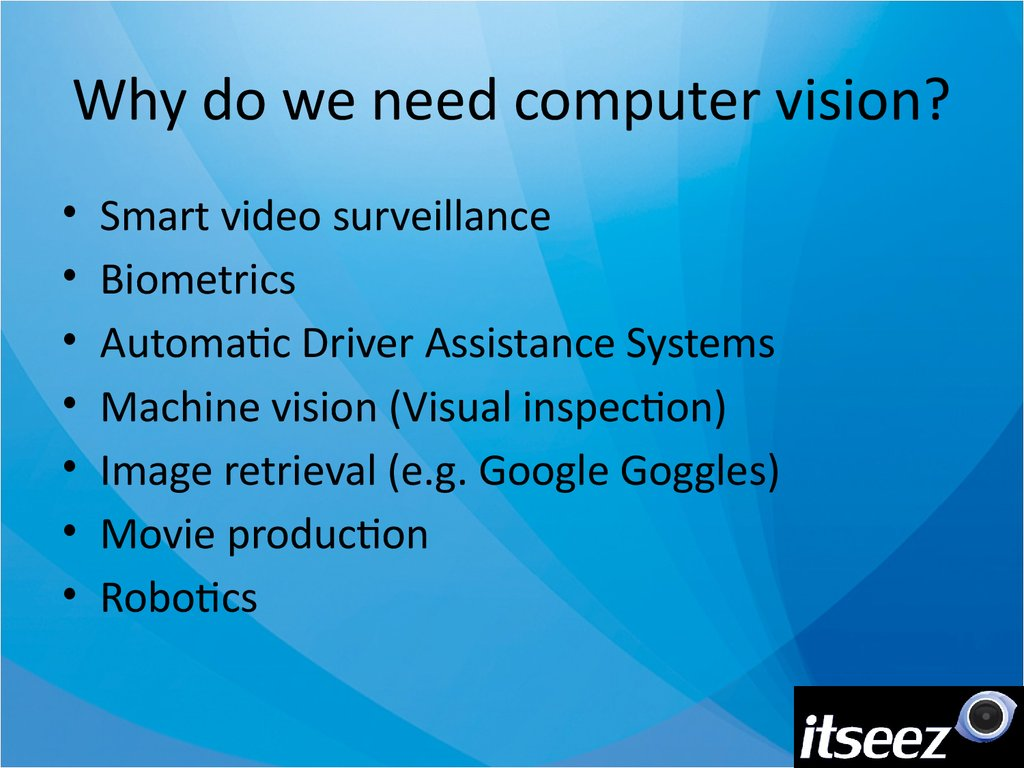Computer Vision For Robotics презентация онлайн