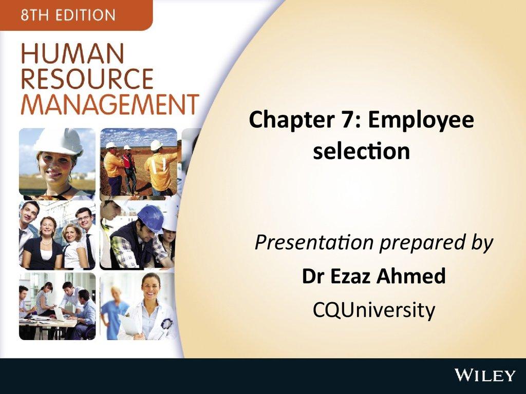 chapter 6 employee selection pdf