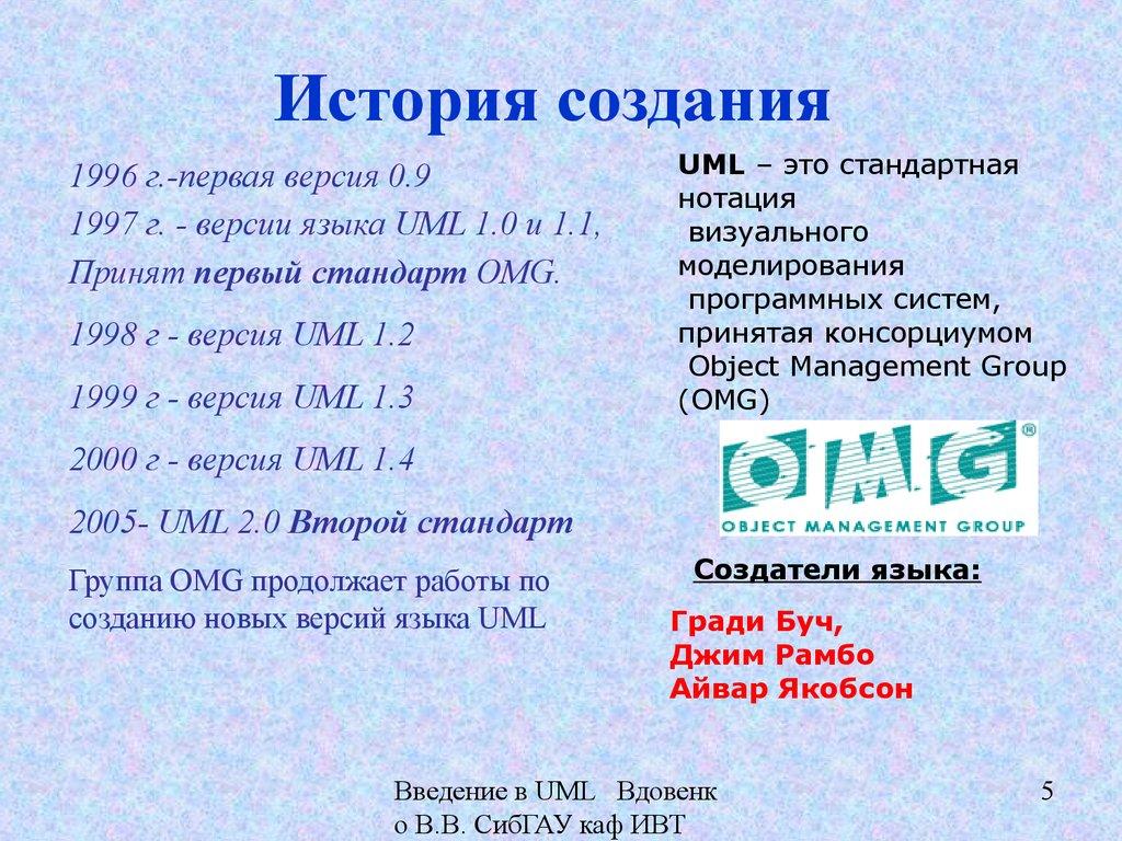 uml язык моделирования для бизнес процессов