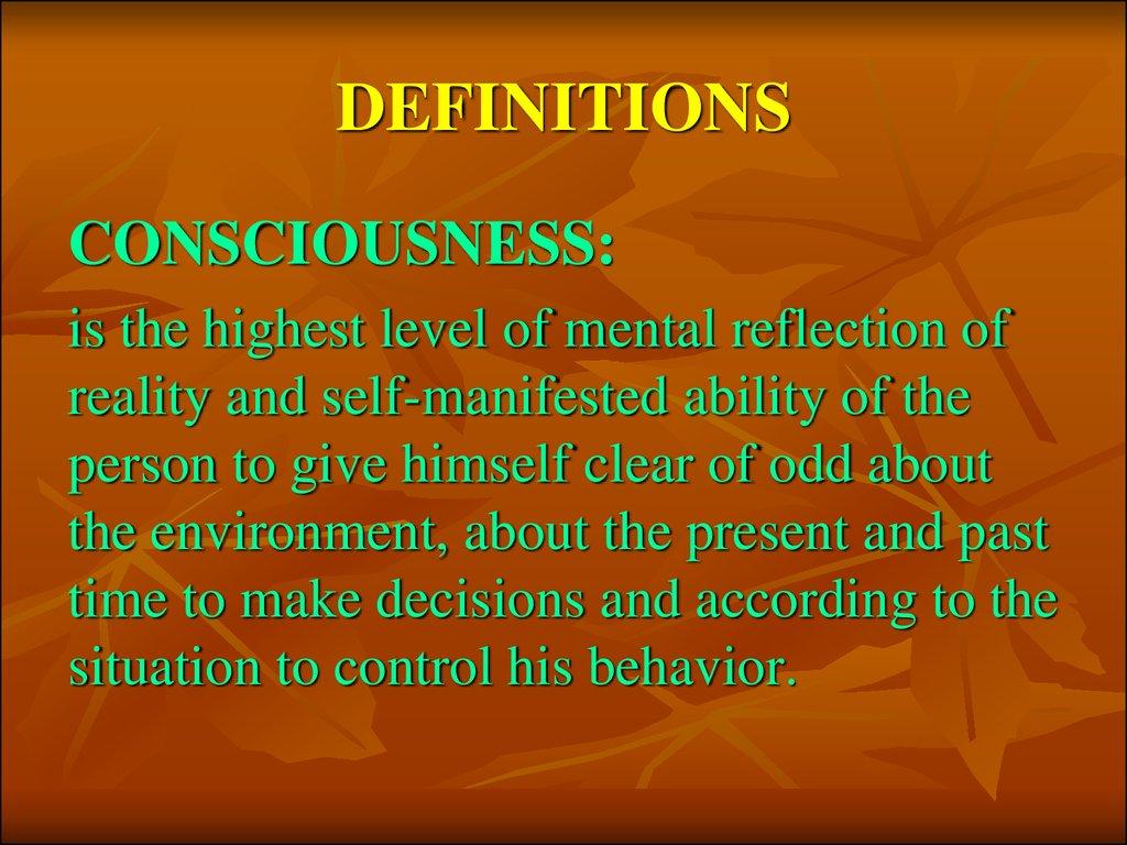 Schizophrenia Definition Psychology >> Psychology and pathology of consciousness - презентация онлайн