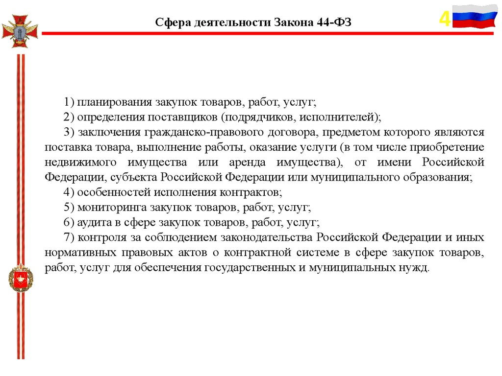 должностные инструкции по контрактной службе 44 фз