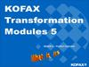 Kofax Transformation Modules 5. Module 2 – Product Overview