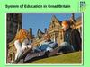 3. System of Education in Great Britain