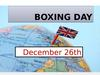 Boxing day december 26th
