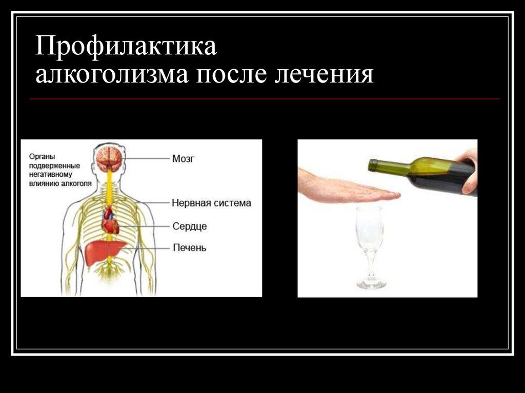 Профилактическая работа при алкоголизме