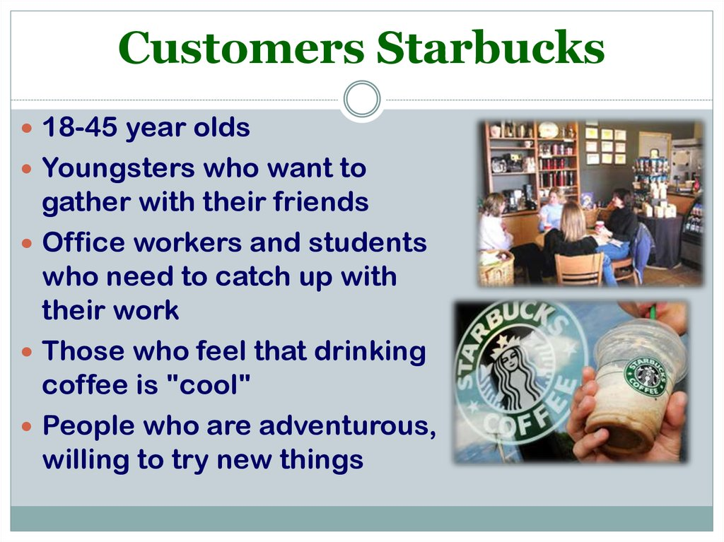 Customers Starbucks