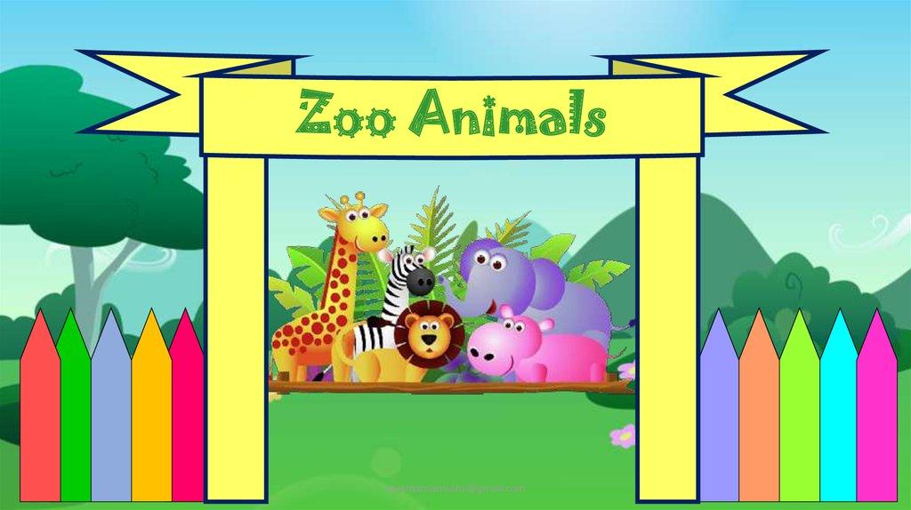 Zoo animals online presentation zoo animals yasamansamsamigmail toneelgroepblik Gallery