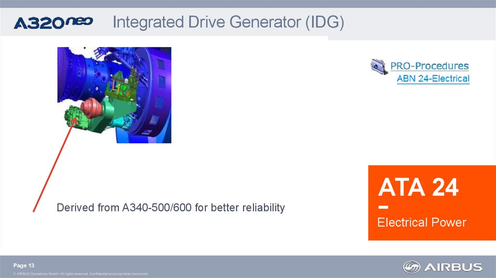 Integrated Drive Generator (IDG)