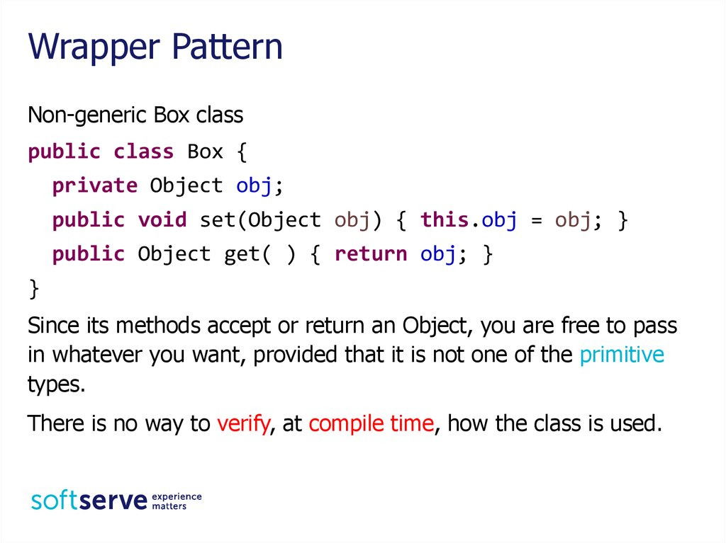 Wrapper Pattern