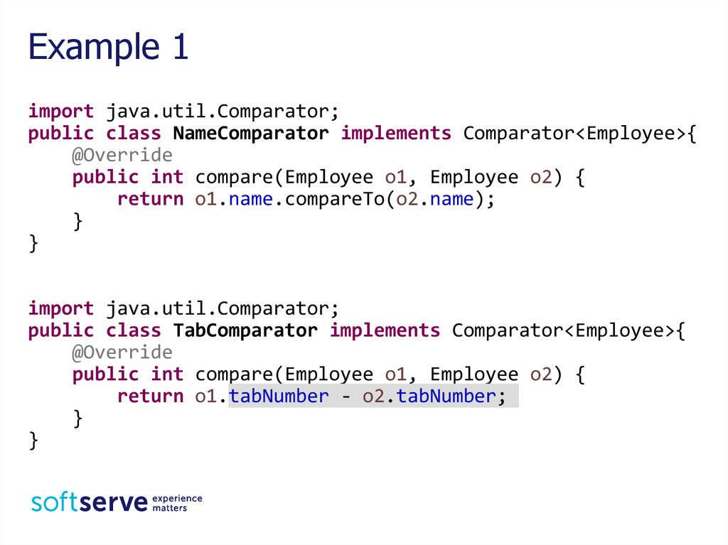 Generic Collections Java Core - online presentation