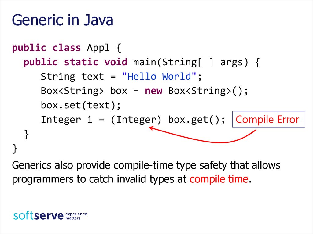 Generic in Java