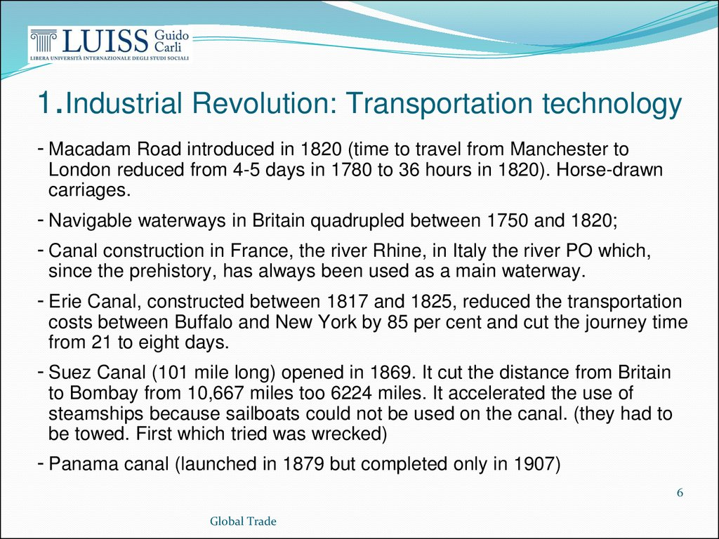 a study of the transportation revolution The transportation revolution in america during this time had a tremendous effect on the country the most important impact was in the fact that it brought about a commercial economy in much of before the transportation revolution, the us was really divided into a lot of very small markets.
