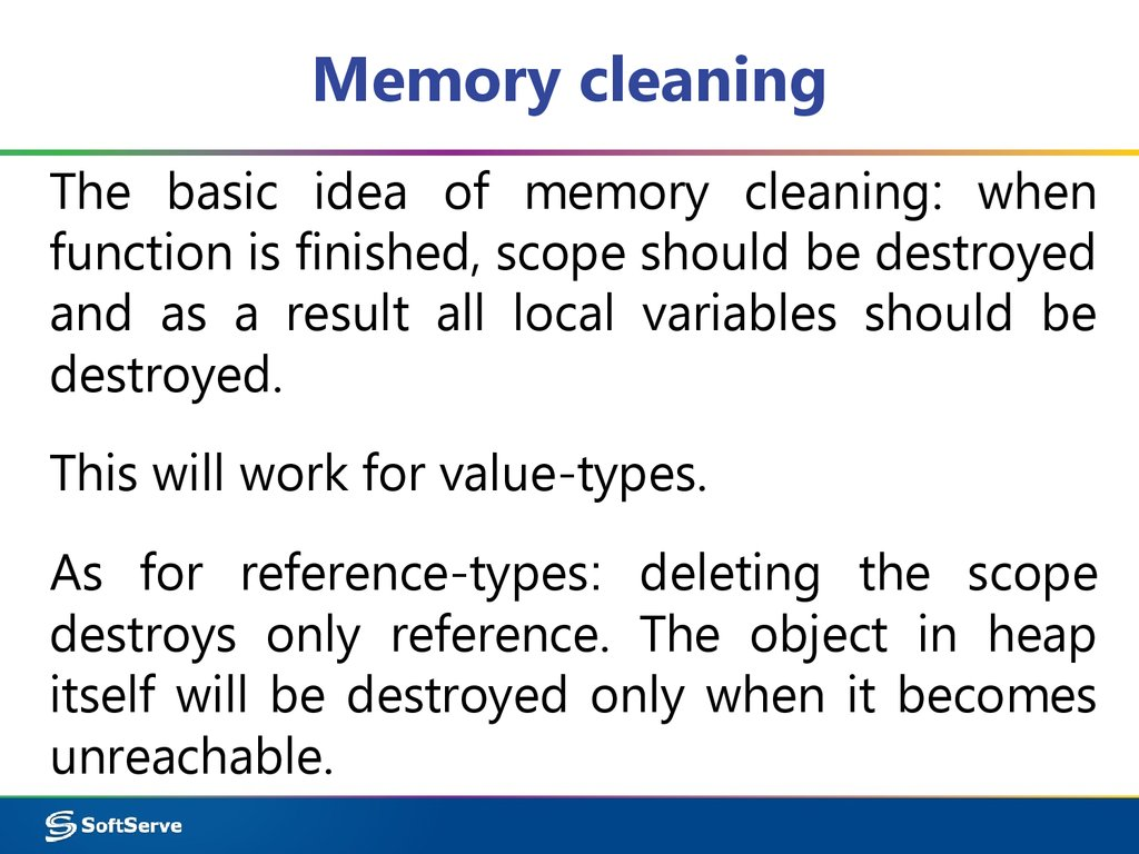 Memory cleaning