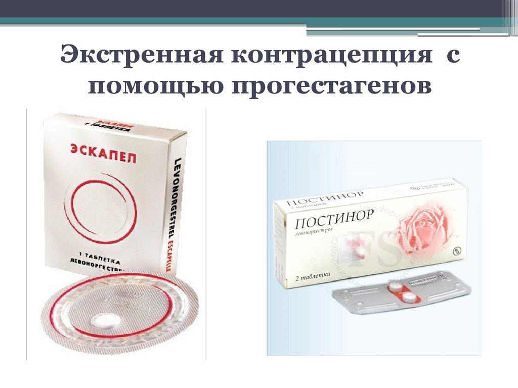 экстренные противозачаточные таблетки