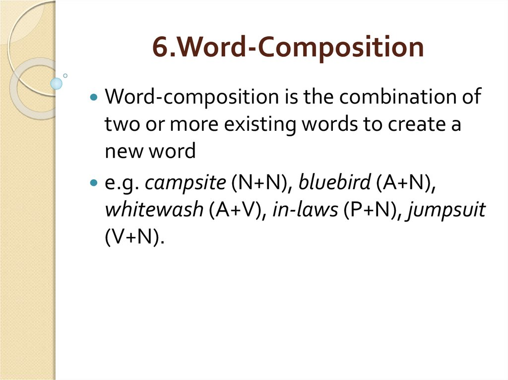 6.Word-Composition