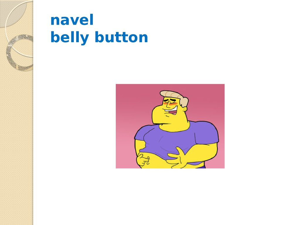 navel belly button