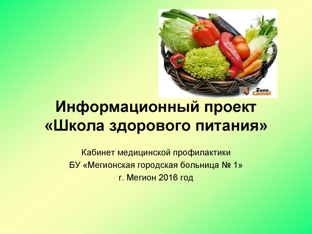 презентация про здоровое питание скачать