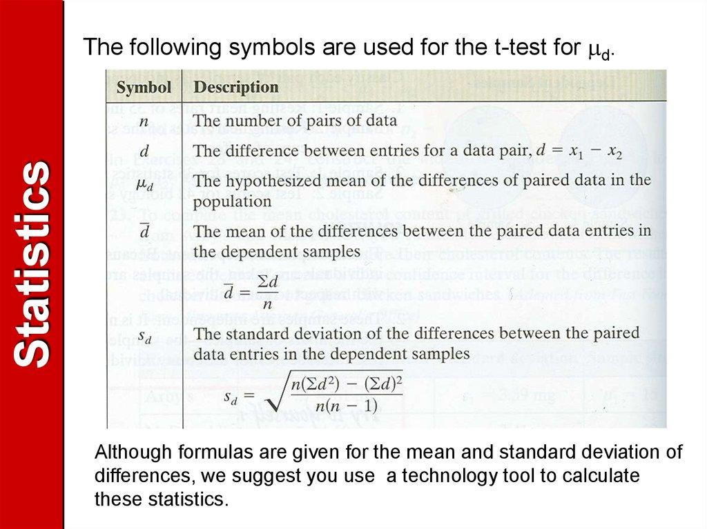 Definition Statistics Online Presentation