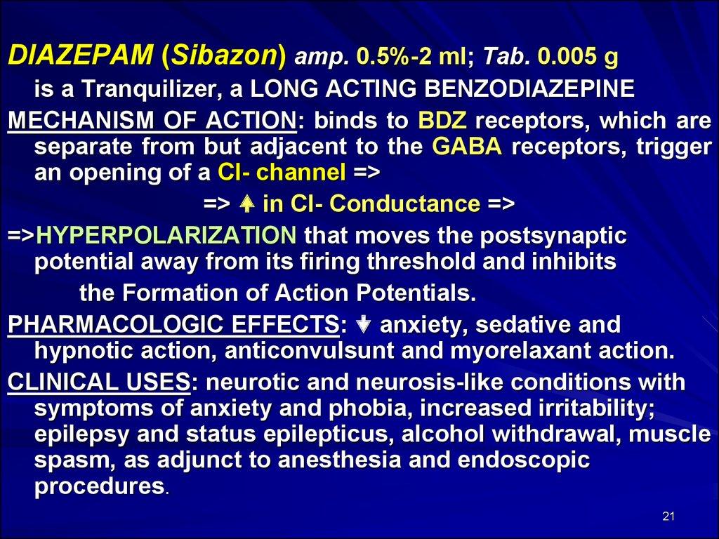 Neuroleptics, lithium, tranquilazers, sedatives - online presentation