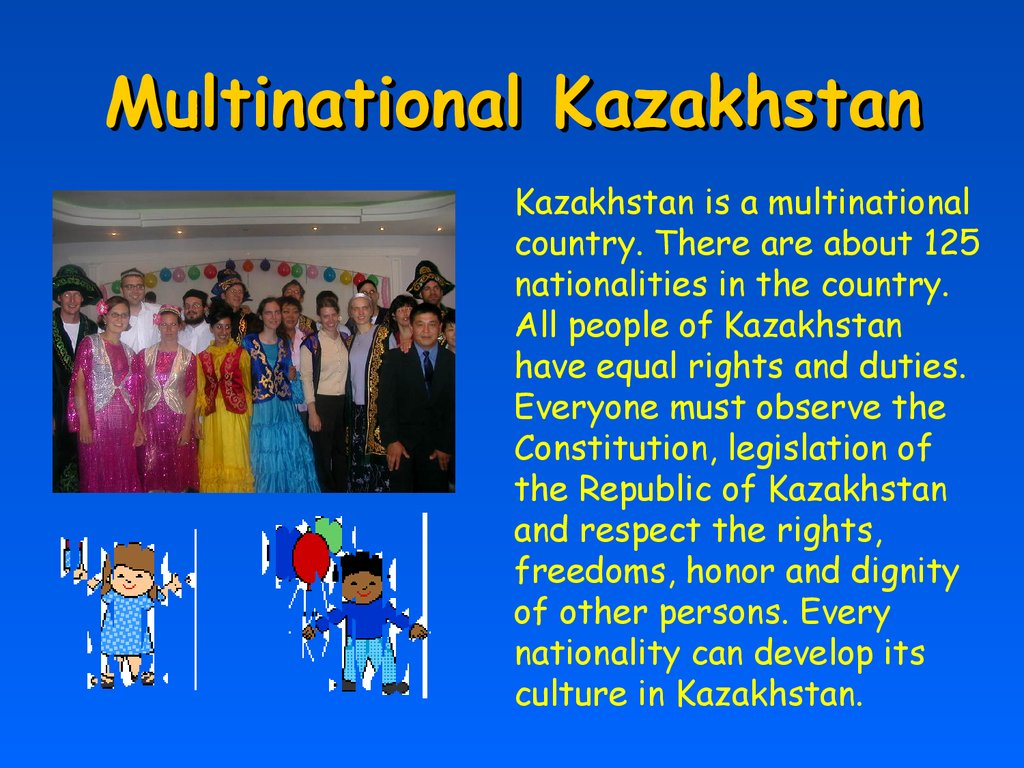 Multinational Kazakhstan