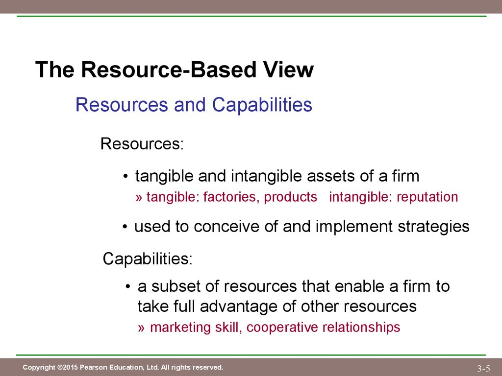 tangible and intangible resources