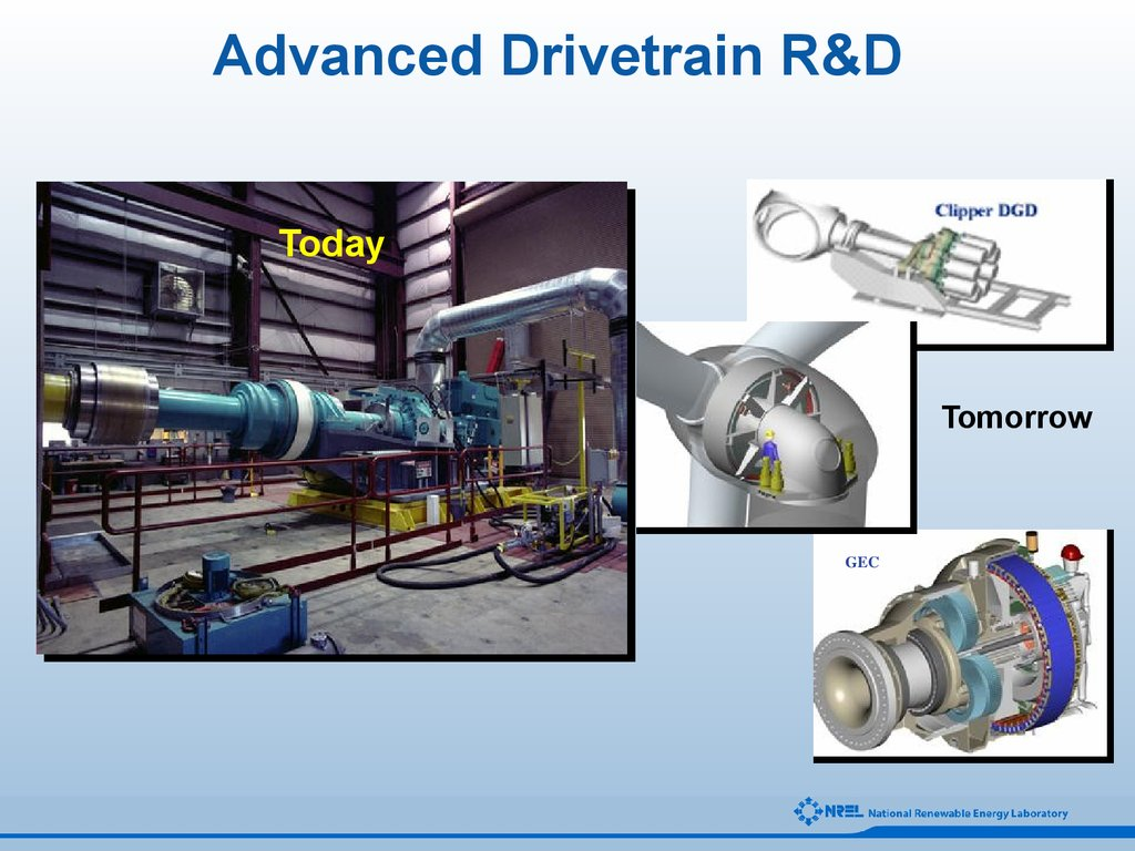 Advanced Drivetrain R&D