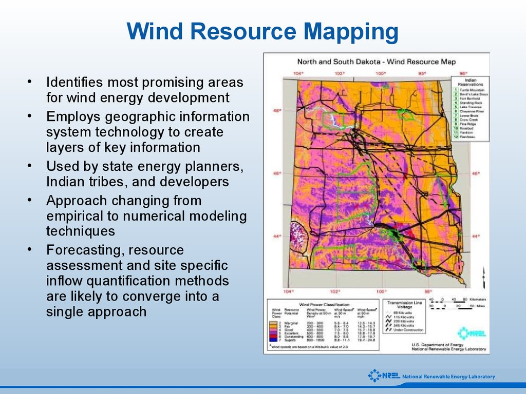 Wind Resource Mapping