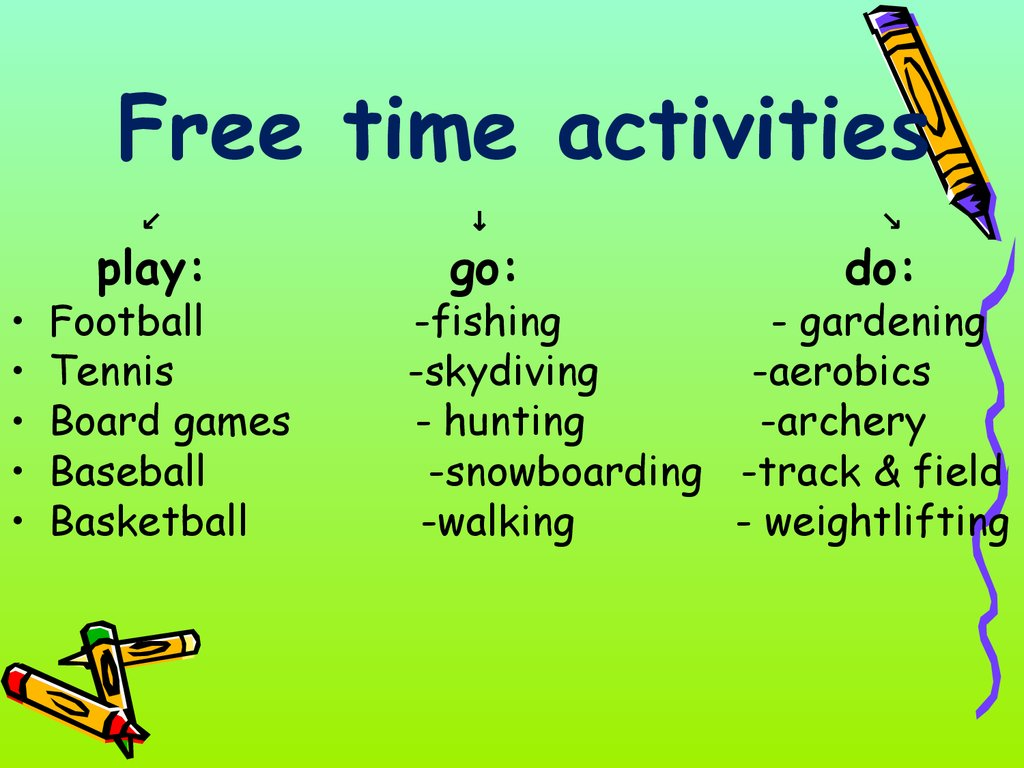 My Free Time Online Presentation