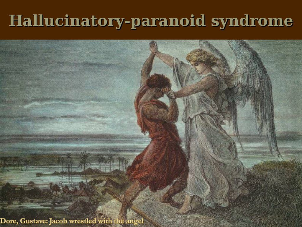Hallucinatory-paranoid syndrome