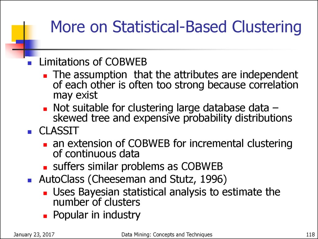 Model-Based Clustering Methods